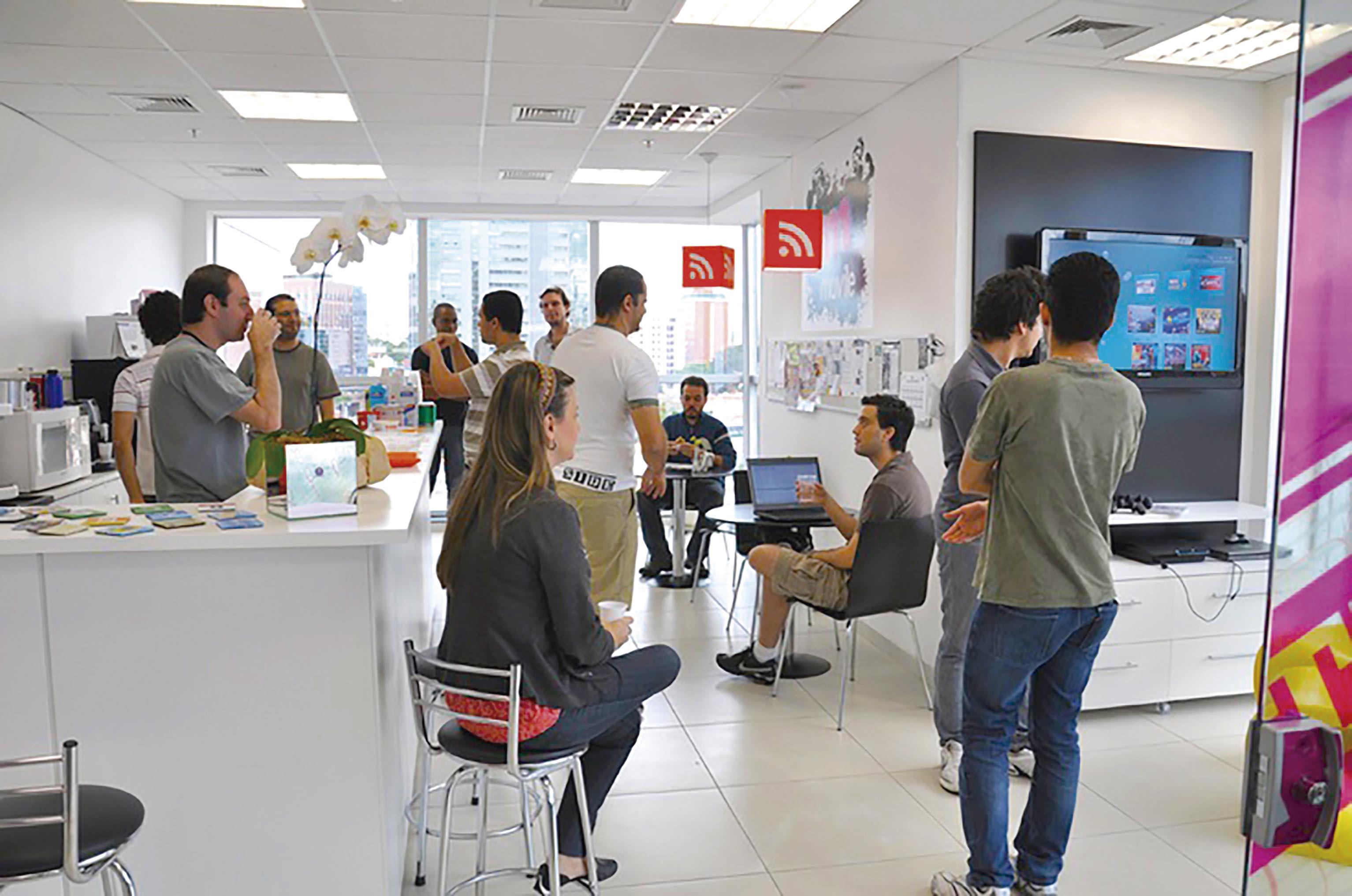 Na Movile, multinacional brasileira detentora de aplicativos como iFood, Apontador e PlayKids, os funcionários podem validar as metas